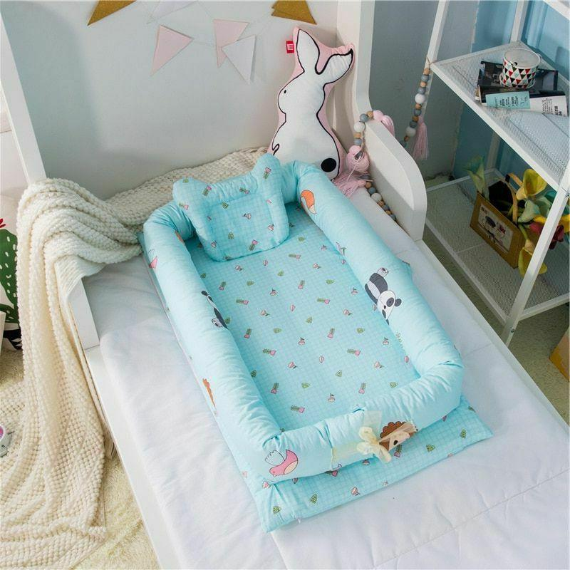 New Baby Bionic Bed Bumper