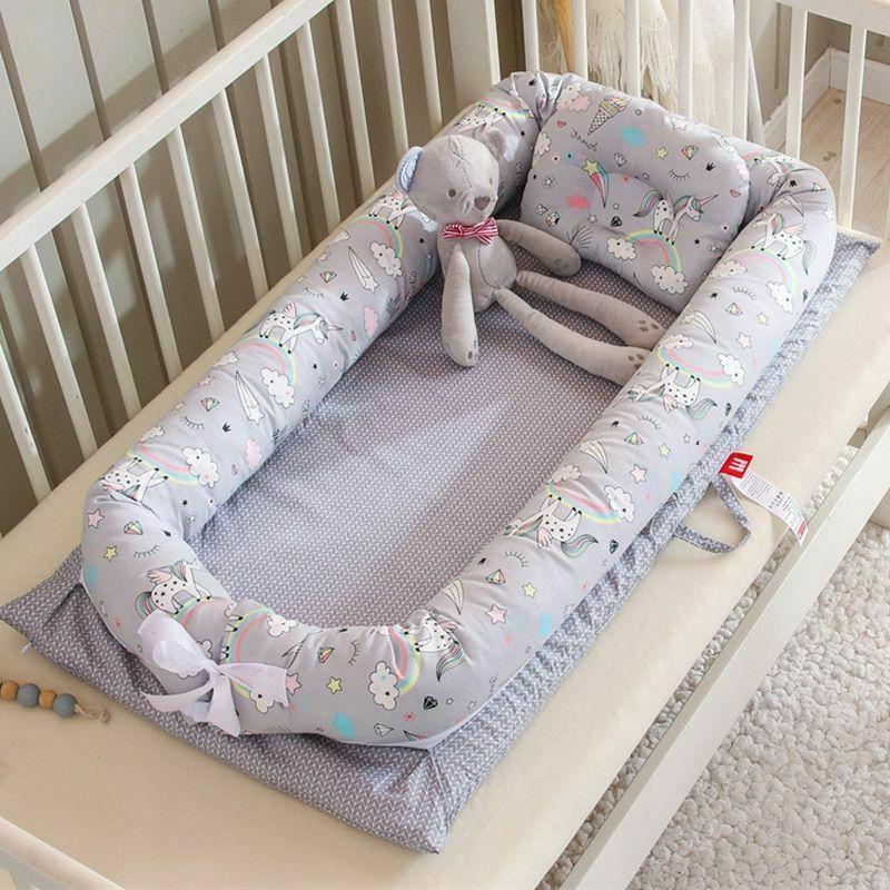 new portable baby bionic bed cotton cradle