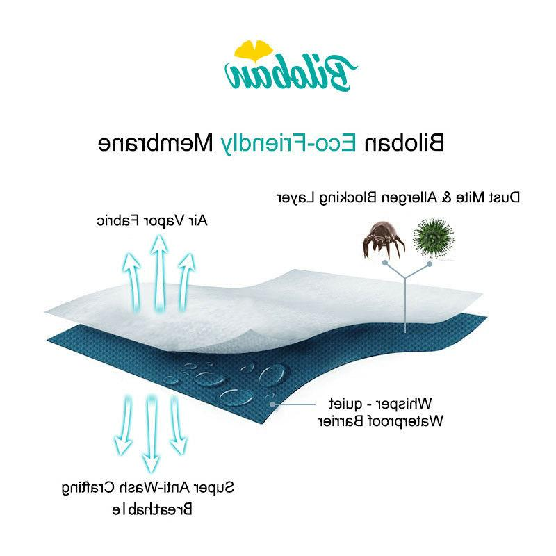 Oval Soft Bassinet Mattress Pad Cover Fits for Waterproof
