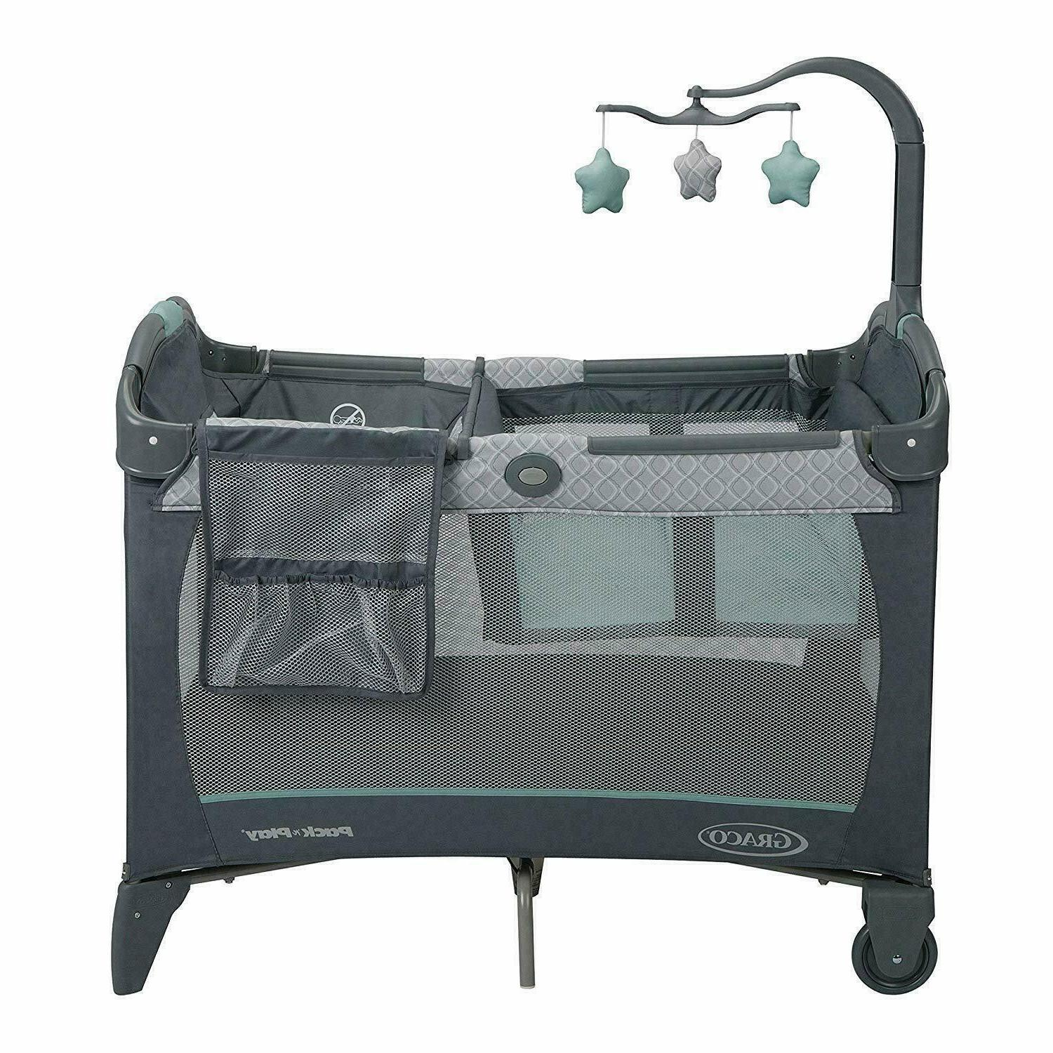 Graco Pack 'n Change Carry Playard - - NEw ship