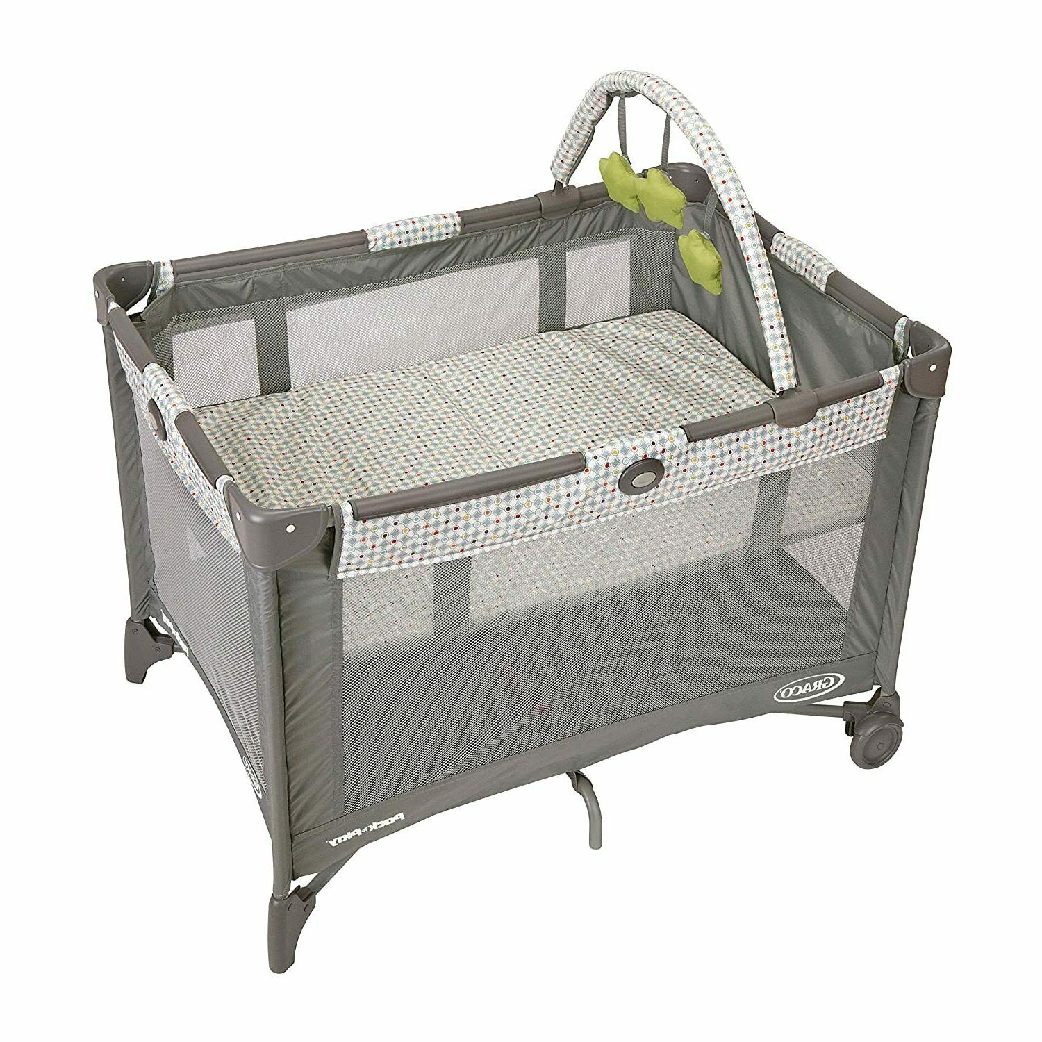 Graco Pack and Play On the Go Playard | Includes Full-Size I