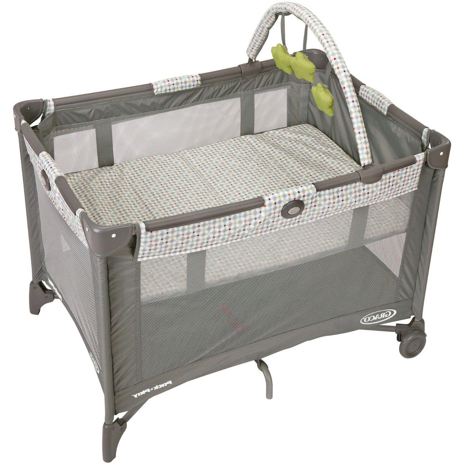 Graco Play On Go with Bassinet