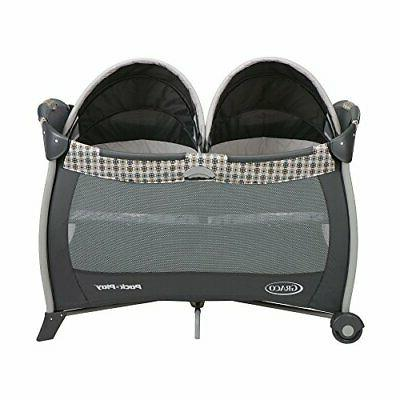 Graco Pack 'n Playard with Bassinet for Twins, Vance