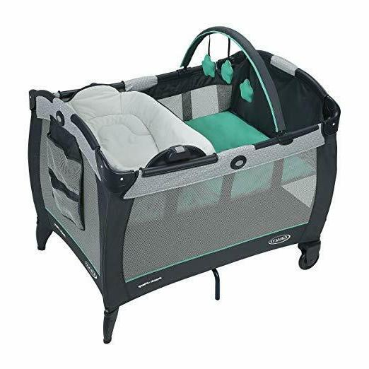 pack n play playard with reversible napper