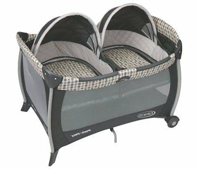 pack n play playard with twins bassinet
