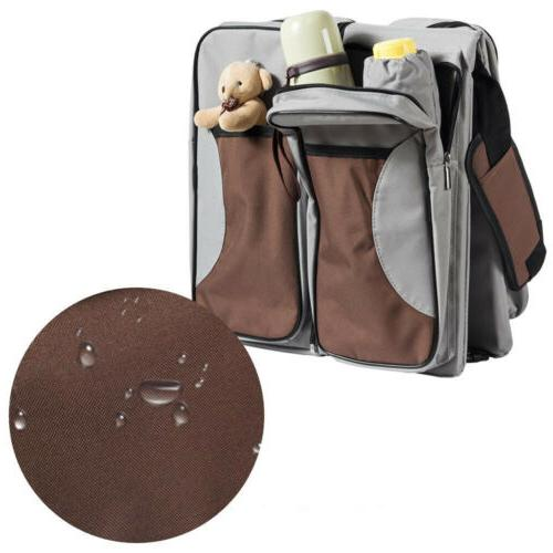 Portable 3in Tote Bassinet Changing Carrycot Bed