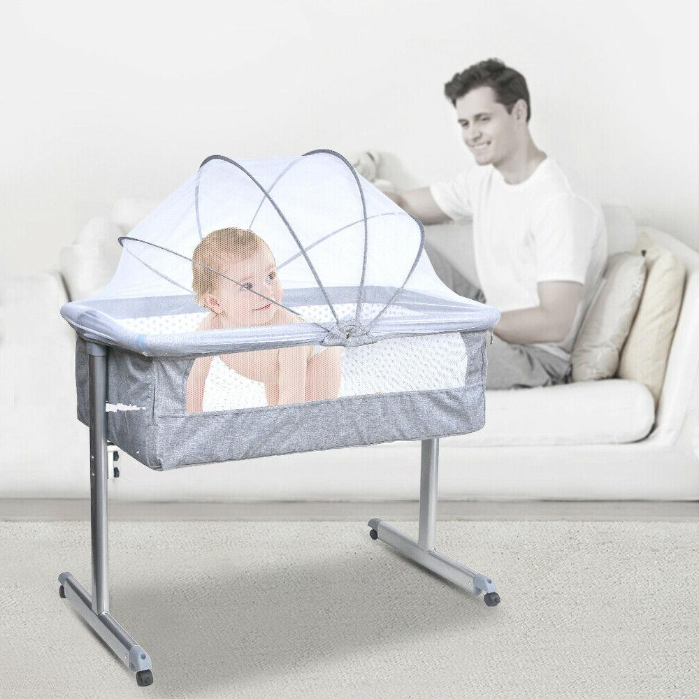 Baby Infant Bedside Bassinet Crib Cradle Nursery Carrier New