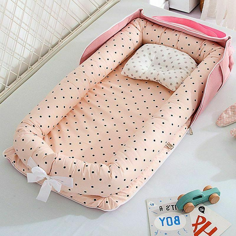 portable baby nest bed boys and girl