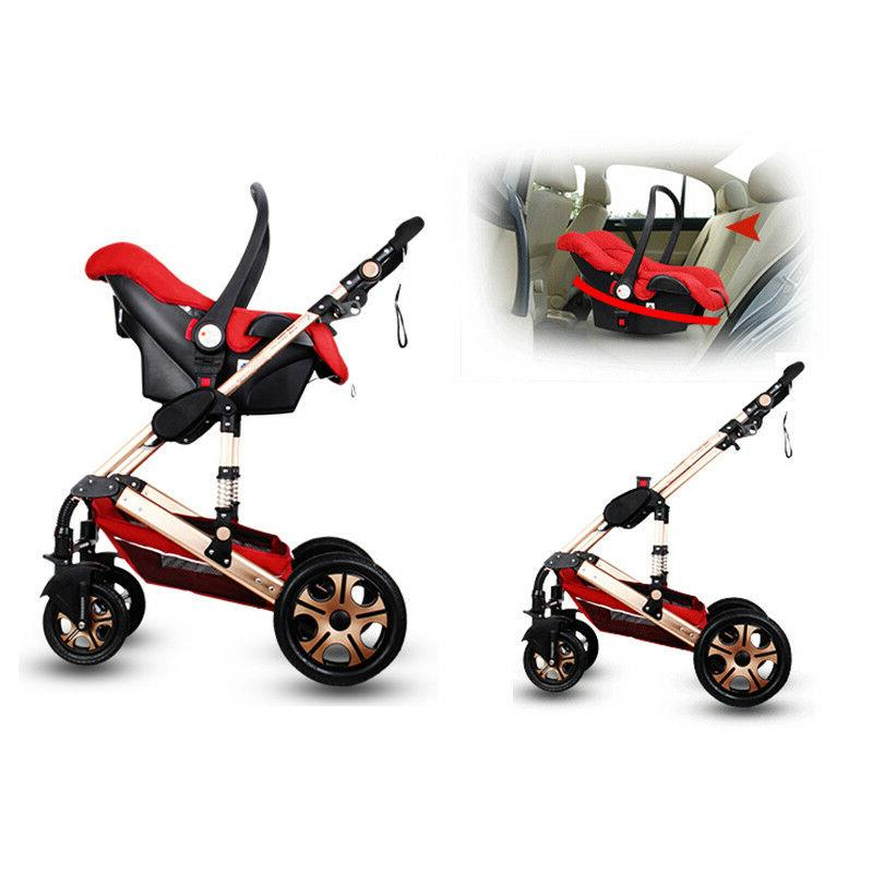 2019 Stroller 3 in Bassinet Combo buggy Pushchair&Car Seat
