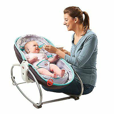 Portable Travel Baby Bed Rocker In Convertible Bassinet Mobile