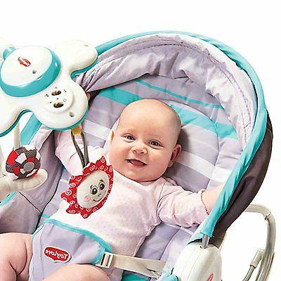 Portable Rocker In Convertible Chair Infant Mobile