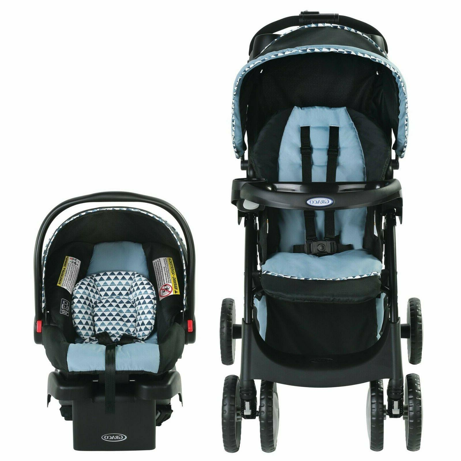 Stroller Travel System with Crib Portable