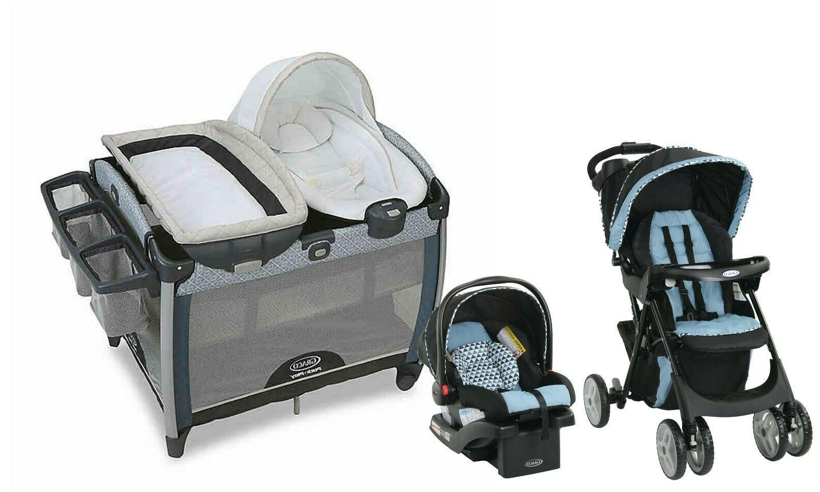 stroller baby travel system with car seat