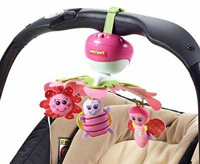 Tiny Love Take Along Baby Mobile For Crib Car Strollers Bass