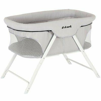 Dream On Me Traveler Portable Bassinet, Cloud Grey