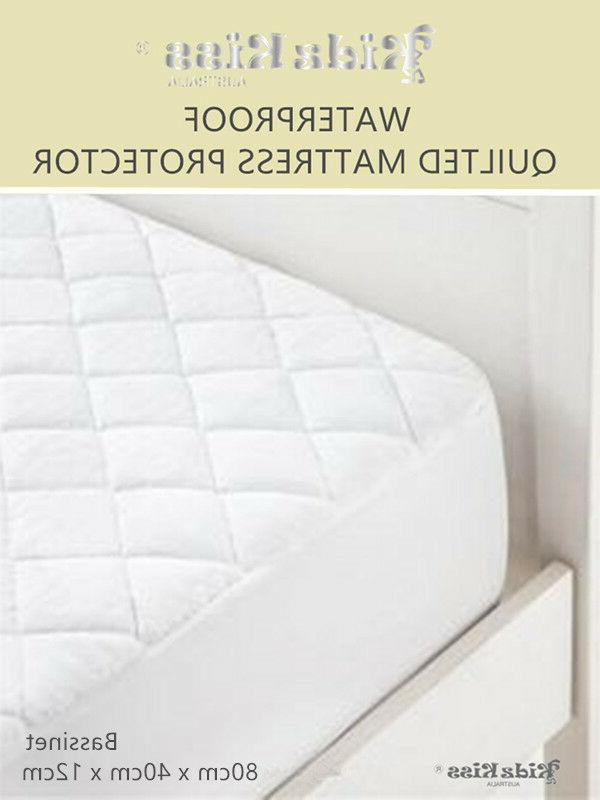 waterproof quilted mattress protector bassinet