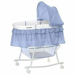 Dream On Me Lacy Portable 2-in-1 Bassinet and Cradle - Seren