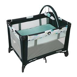 Graco Pack n Play On the Go Playard Stratus Infant Bassinet
