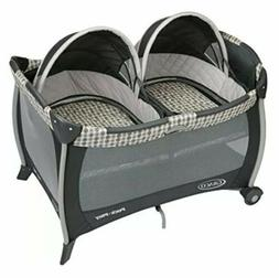 Graco Pack 'n Play Playard with Bassinet for Twins, Vance. N