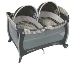 Graco Pack 'n Play Playard with Twins Bassinet, Vance, One S