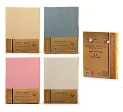 PREMIUM QUALITY  TRAVEL COT  FITTED SHEETS 95 X 65 CM 100%