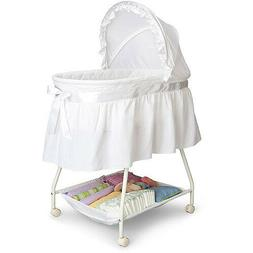Portable Baby Infant Newborn Bassinet Sleeper Bed Cradle Bas