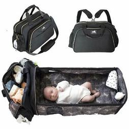 Portable Bassinet for Baby with 3 in 1 Diaper Bag Travel Bas