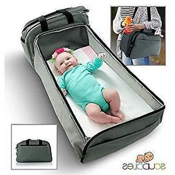 Scuddles- 3-1| portable bassinet | for baby | Foldable Baby