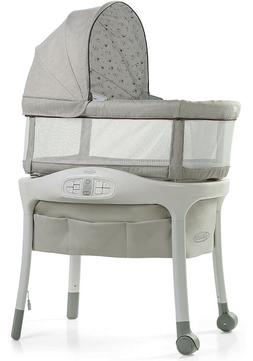 sense2snooze bassinet with cry detection technology