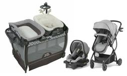 Stroller Baby Travel System with Car Seat Portable Playard B