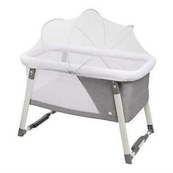 Travel Bassinet For Baby - Rocking Cradle - Includes Carry C