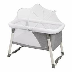 Travel Bassinet for Baby - Rocking  Sturdy Cradle - Includes