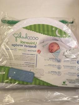 OCCOBaby Universal Crib Bassinet Wedge, New, Dual Cover, Cot