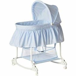 Dream On Me Willow Bassinet - Sky Blue